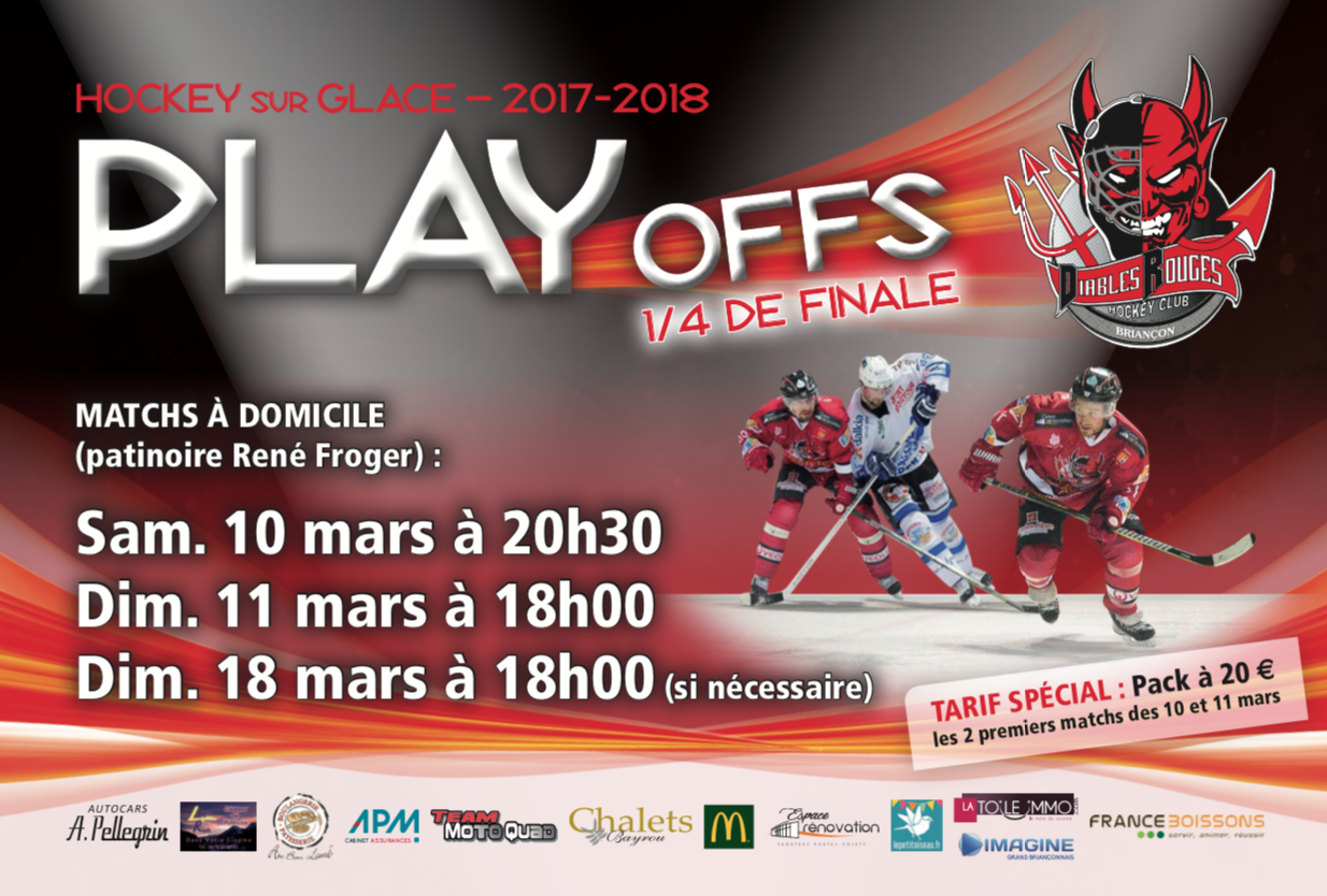 affiche playoffs