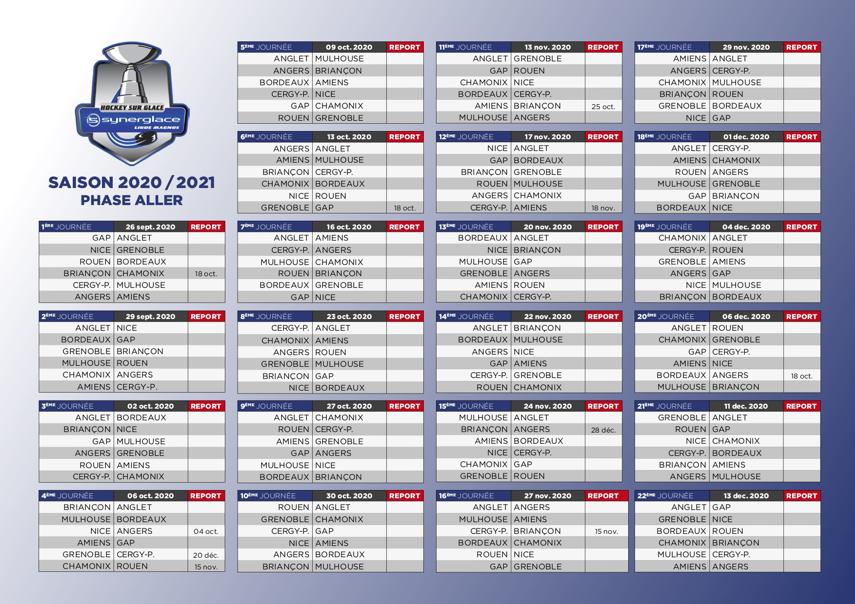 calendrier phase1